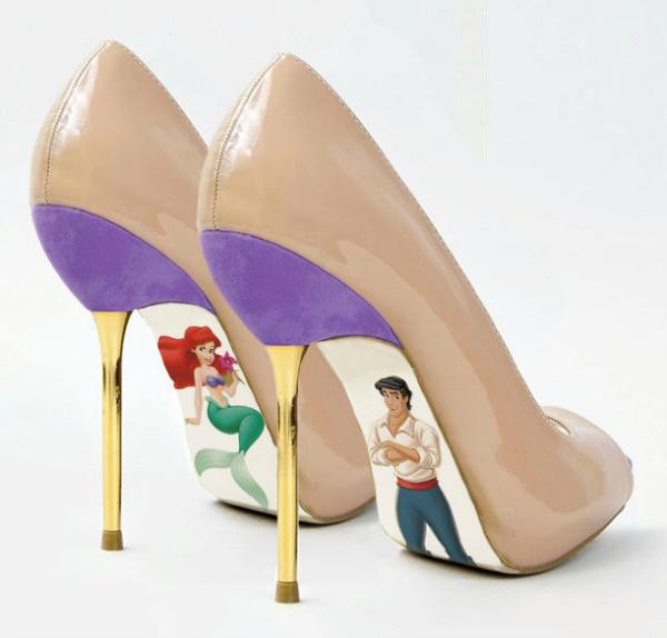 771 Sedam cipela inspirisanih Malom sirenom