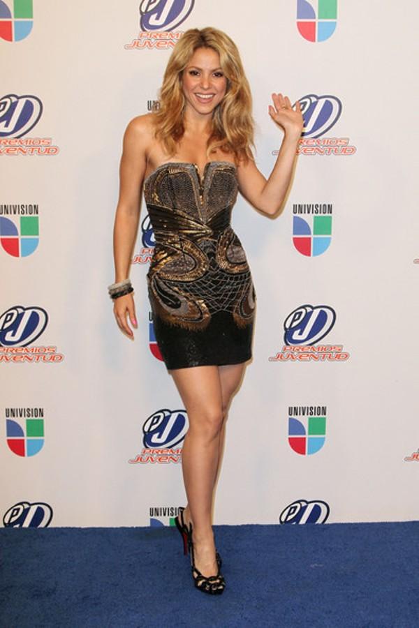 8.12 10 haljina: Shakira