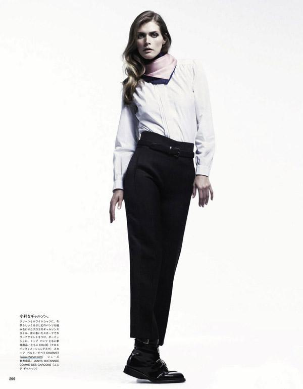 """8 """"Vogue Japan"""": Zimsko modiranje"""