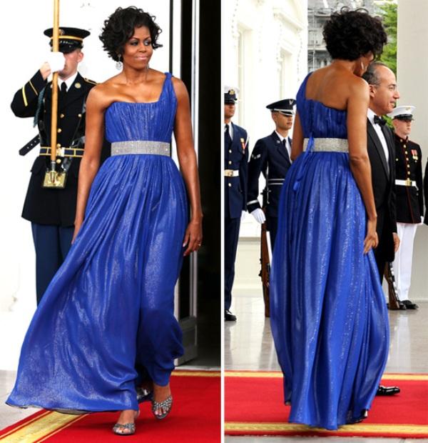 9.6 10 haljina: Michelle Obama