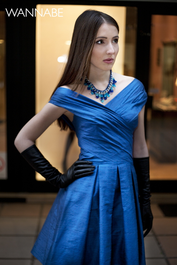 IMG 6178 Novogodišnji modni predlog Emilije Petrović: Magična plava