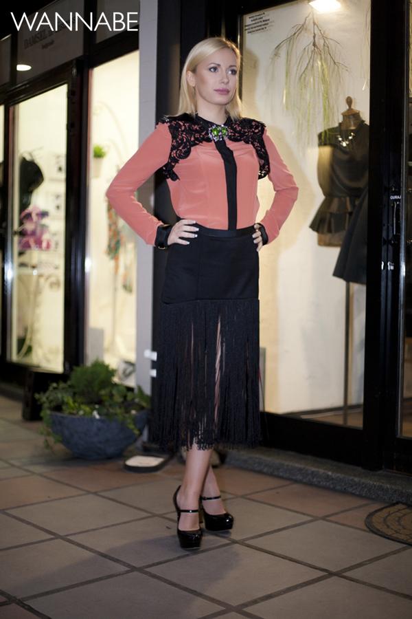 IMG 6240 Novogodišnji modni predlog Ines Klare: Čipka i rese