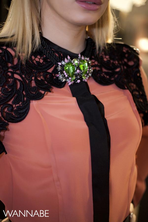 IMG 6247 Novogodišnji modni predlog Ines Klare: Čipka i rese