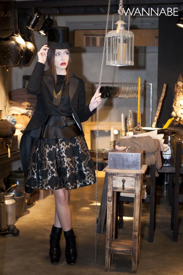 IMG 62851 Novogodišnji modni predlog Daniele Glišić: Elegantna crna