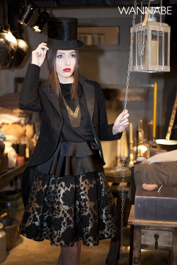 IMG 62881 Novogodišnji modni predlog Daniele Glišić: Elegantna crna
