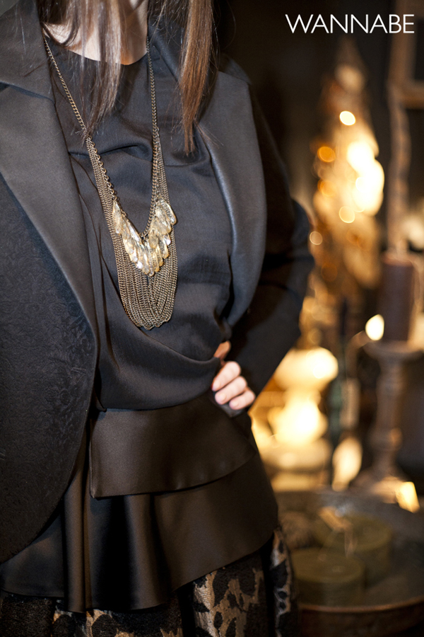 IMG 62941 Novogodišnji modni predlog Daniele Glišić: Elegantna crna