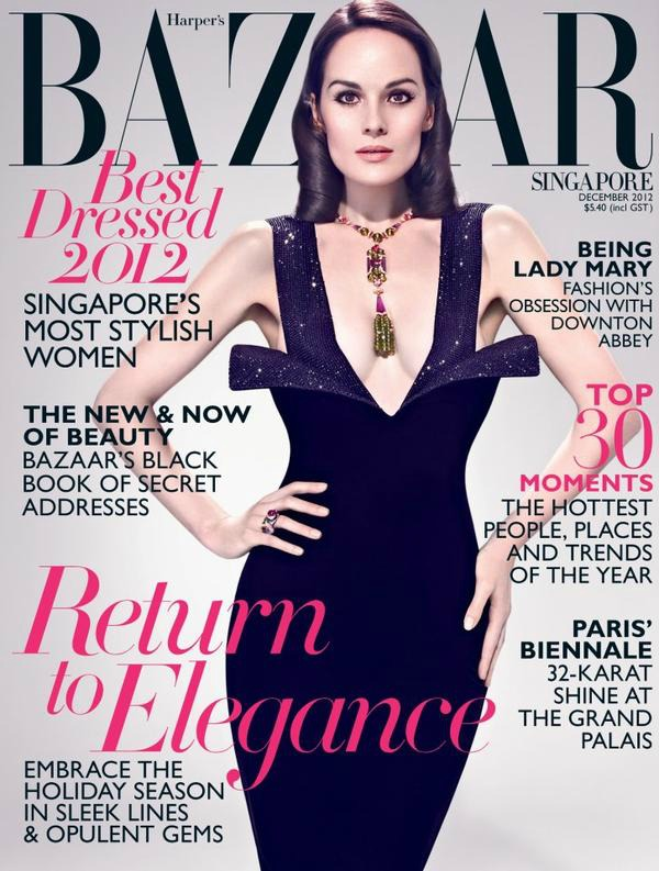 "SLIKA 132 Godina kroz naslovnice: ""Harper's Bazaar"""