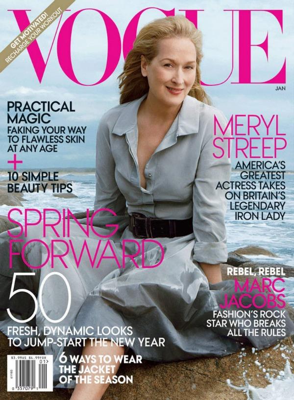 """SLIKA 214 Godina kroz naslovnice: """"Vogue"""""""