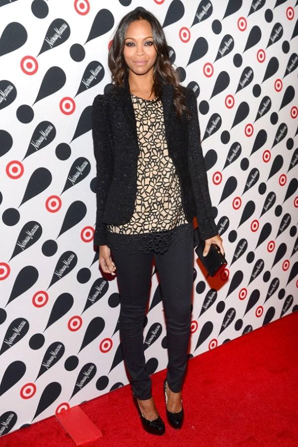 SLIKA1 Celebrity stil dana: Zoe Saldana