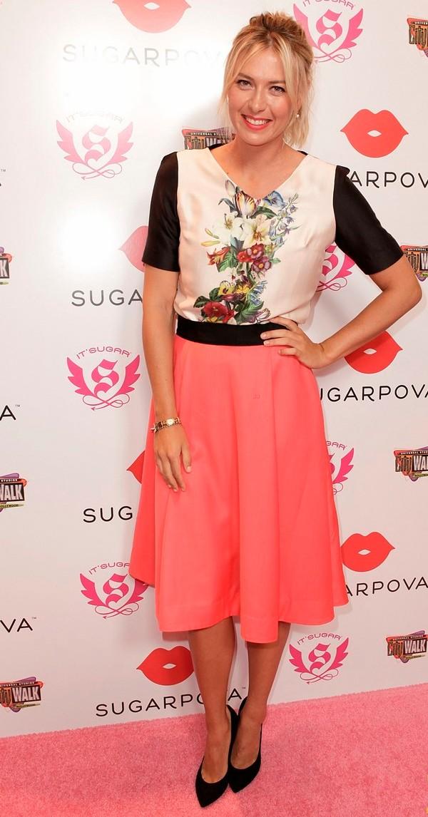 SLIKA114 Celebrity stil dana: Maria Sharapova