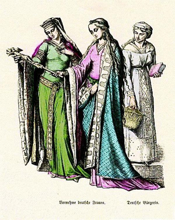 SLIKA16 Istorija mode: Srednji vek