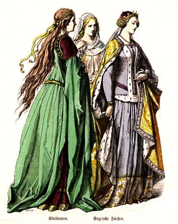 SLIKA31 Istorija mode: Srednji vek