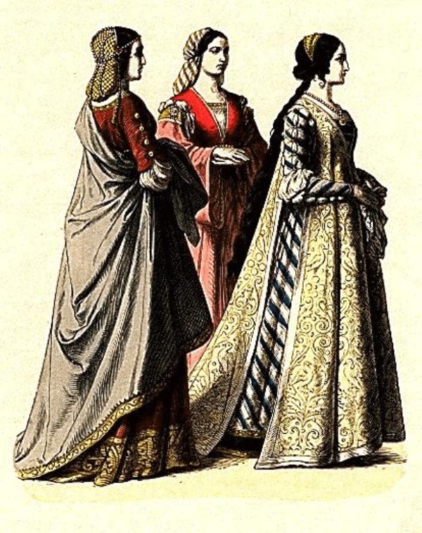 SLIKA41 Istorija mode: Srednji vek