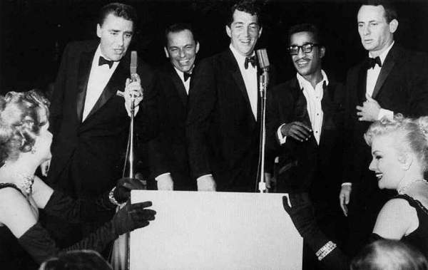 Slika 1.3 Rat Pack: Dean Martin, Frank Sinatra i ostala družina