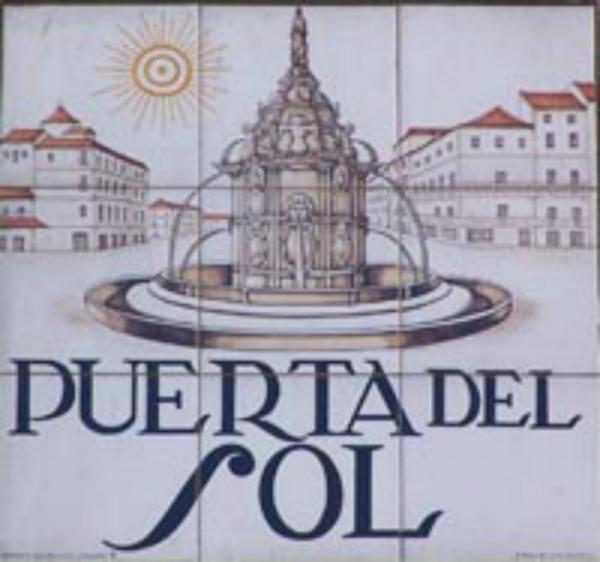 Slika 111 Trk na trg: Puerta del Sol, Madrid