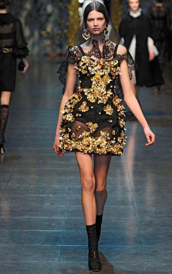 Slika 199 Jesen i zima na modnim pistama: Dolce&Gabbana