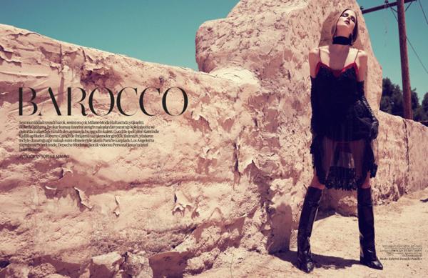Slika 242 Vogue Turkey: Baroko