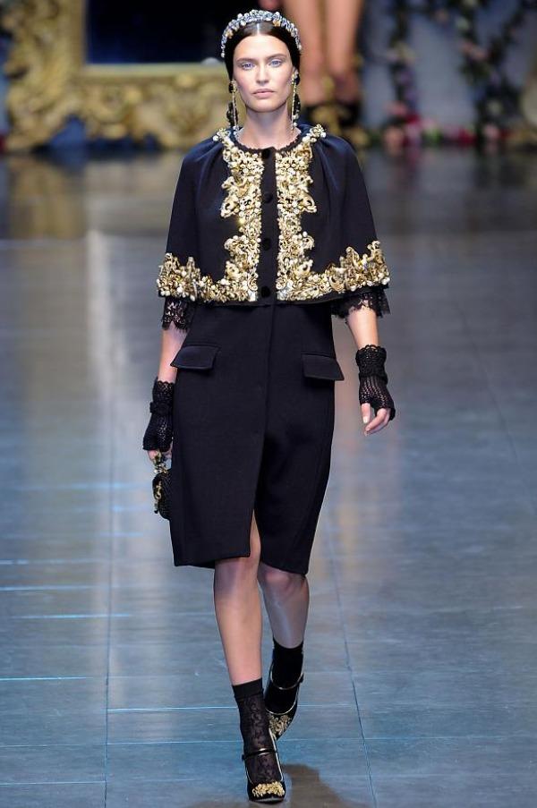 Slika 275 Jesen i zima na modnim pistama: Dolce&Gabbana