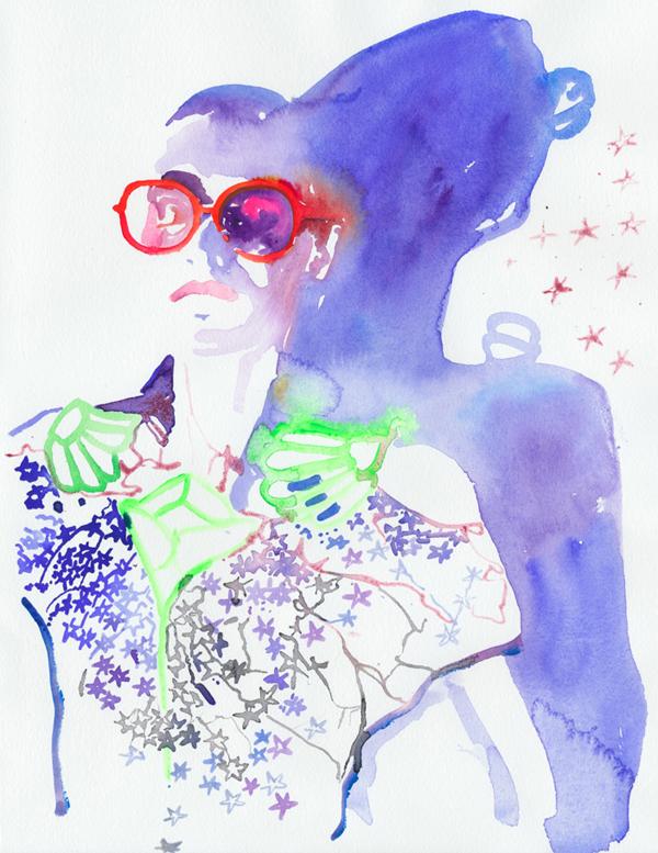 Slika 28 Cate Parr: Ekstravagantna i senzualna ilustracija