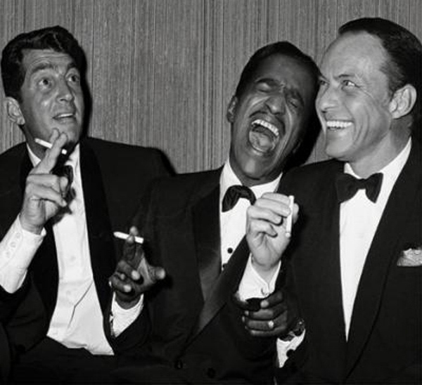 Slika 3.3 Rat Pack: Dean Martin, Frank Sinatra i ostala družina