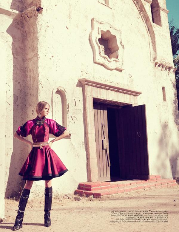 Slika 428 Vogue Turkey: Baroko