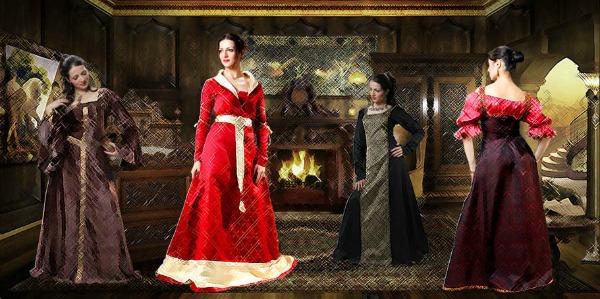 Slika 432 Istorija mode: Elizabetanska era