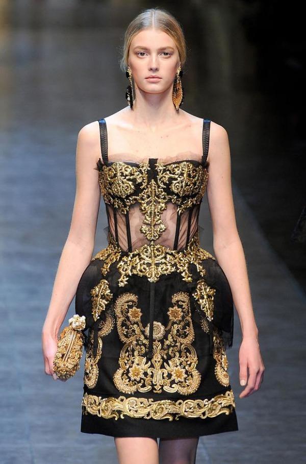 Slika 445 Jesen i zima na modnim pistama: Dolce&Gabbana