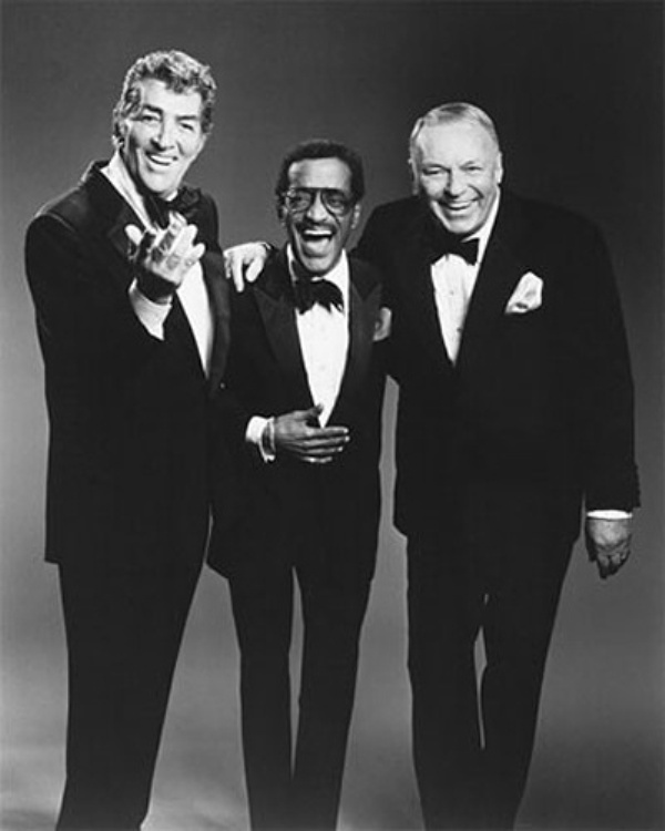 Slika 5. Rat Pack: Dean Martin, Frank Sinatra i ostala družina