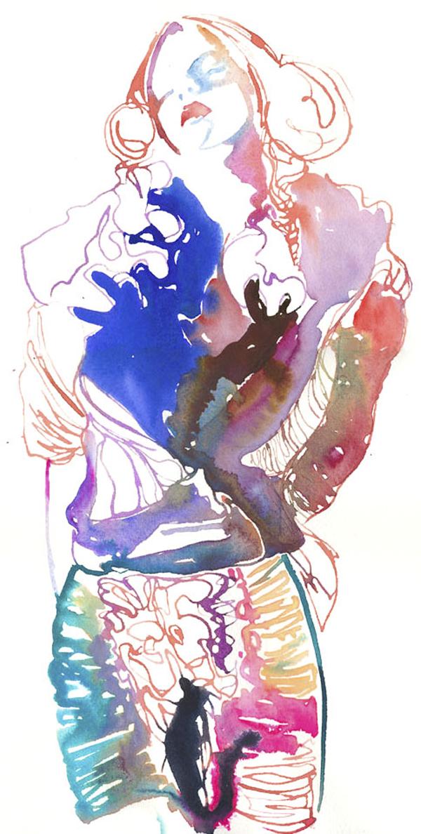 Slika 54 Cate Parr: Ekstravagantna i senzualna ilustracija