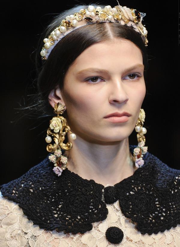 Slika 632 Jesen i zima na modnim pistama: Dolce&Gabbana