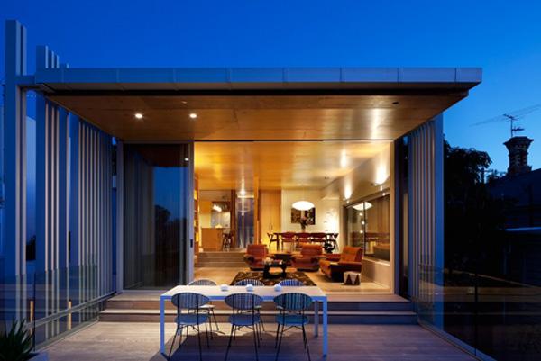 brown vujcic kuca 1 vecera uz priguseno svetlo Stvarno dobar arhitekta: Pete Bossley