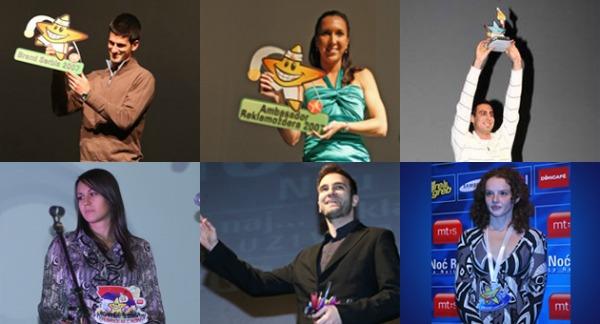 dobitnici Noć Reklamoždera 2012.