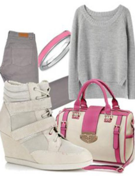 Look of the Day: Siva i roze