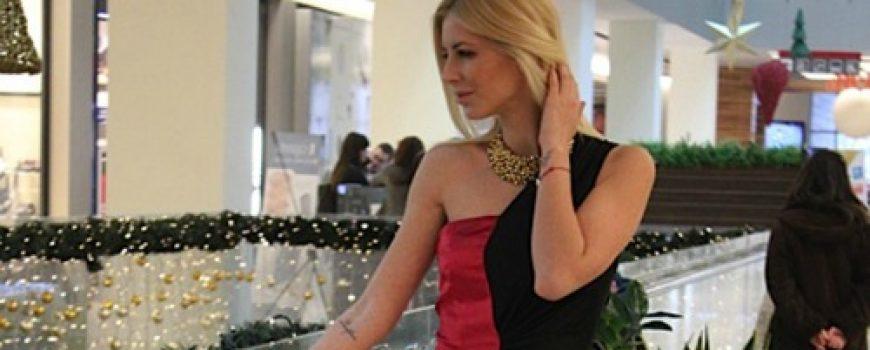 Novogodišnji modni predlog Zorane Jovanović: Crna i bordo