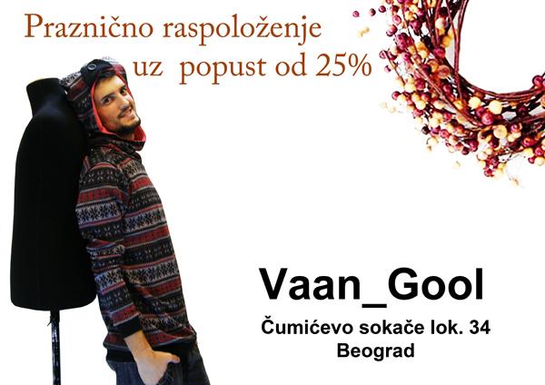 naslovna22 Vaan Gool: Praznično raspoloženja uz popust od 25%