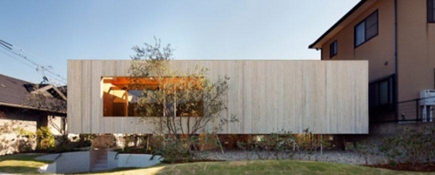 """UID Architects: """"Koštičava kuća"""" u Okajami u Japanu"""