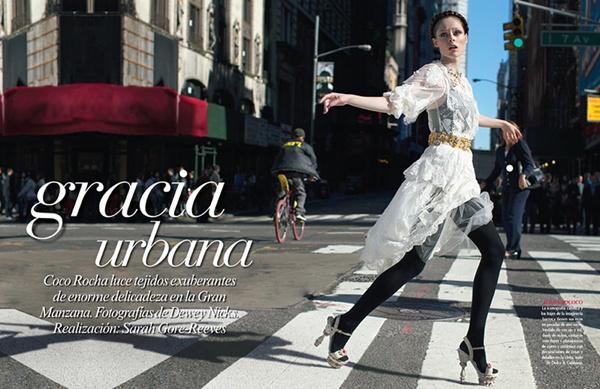 slika 1 Vogue Mexico: Sicilijanka u Njujorku