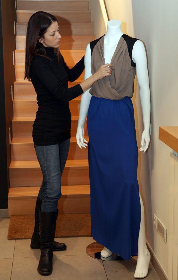 slika 128 Kad porastem biću modni dizajner: Jelena Stefanović