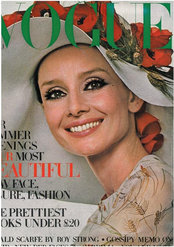 slika 136 Moda na naslovnici: Audrey Hepburn na zalasku karijere