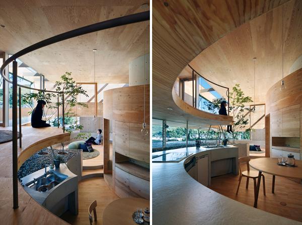 slika 3 sve na dohvat ruke UID Architects: Koštičava kuća u Okajami u Japanu