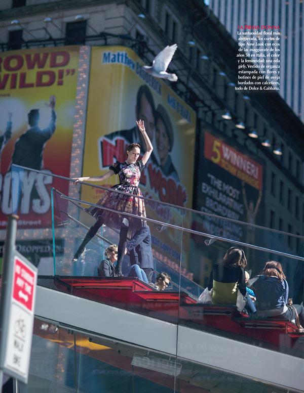 slika 3 Vogue Mexico: Sicilijanka u Njujorku