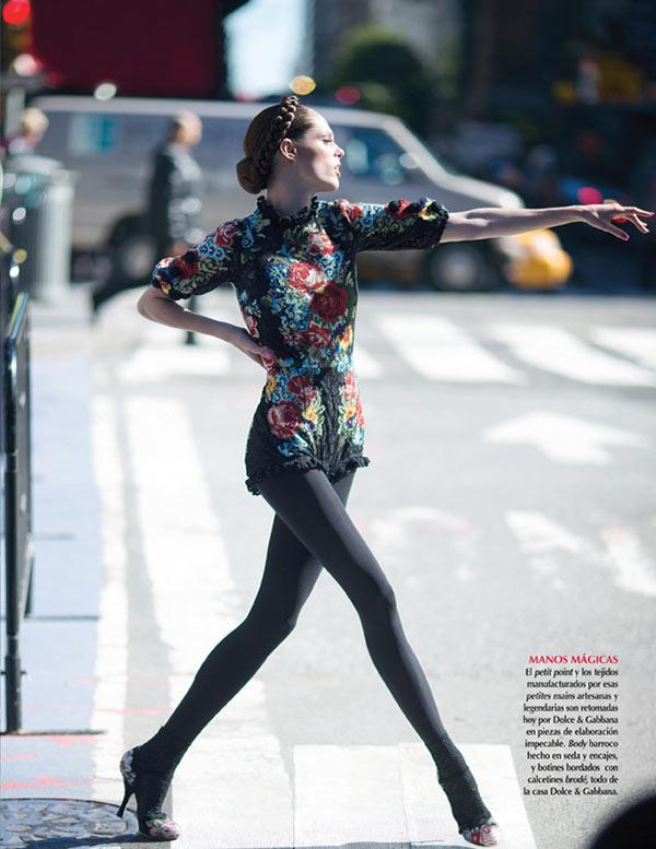 slika 4 Vogue Mexico: Sicilijanka u Njujorku