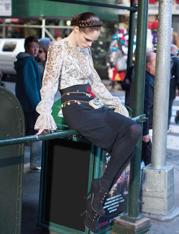slika 5 Vogue Mexico: Sicilijanka u Njujorku