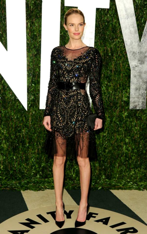 slika 56 Najlepše crne koktel haljine u 2012. godini