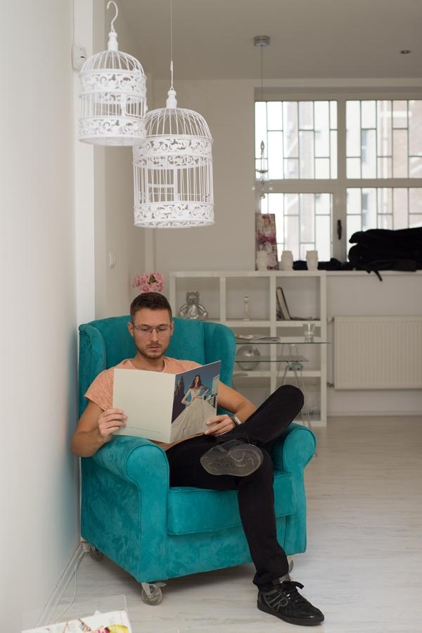 slika 6 Kad porastem biću modni dizajner: Mihailo Anušić