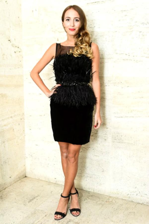 slika 82 Najlepše crne koktel haljine u 2012. godini