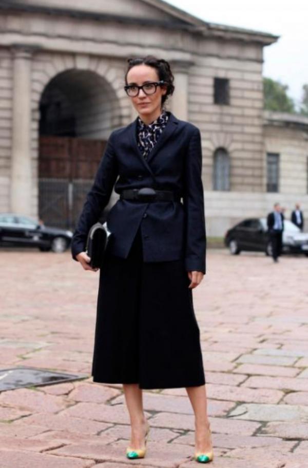 1. Street Style: Valentina di Pinto