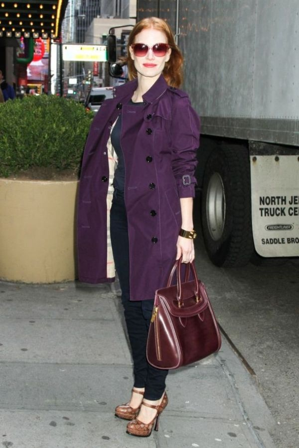 1.20 10 odevnih kombinacija: Jessica Chastain