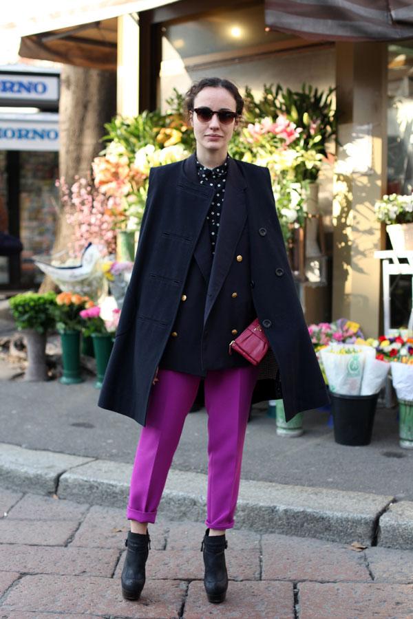 10.2 Street Style: Valentina di Pinto
