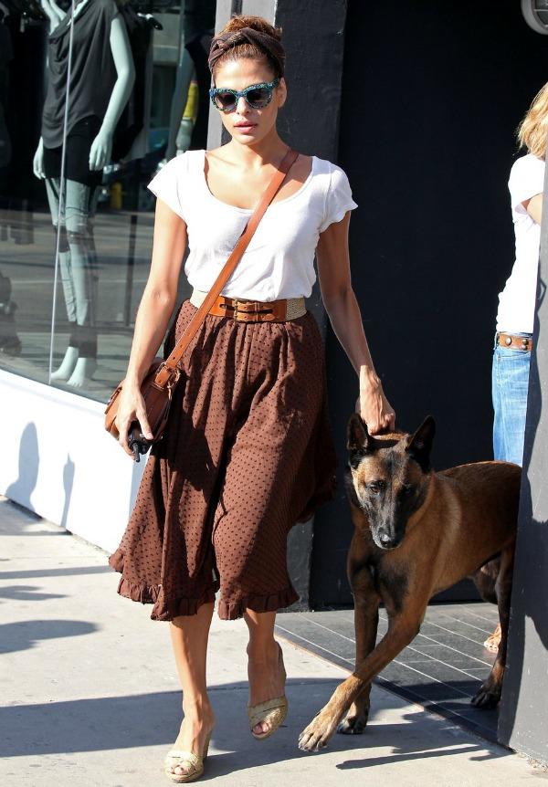 113 10 odevnih kombinacija: Eva Mendes